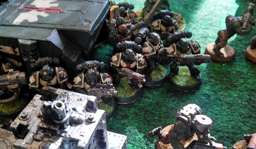 Oct 2013 fifth picture csm and orks vs dark angels