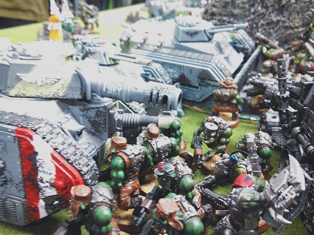 orks vs. IG amp Assassin July 9 2015