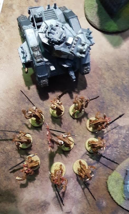 IG vs. Daemonkin March 17 2017 Synchronized Bloodletters and Demolisher