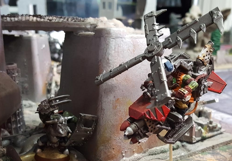 Orks vs. Orks Feb 17 2017 Sneaky Git and the Red Git