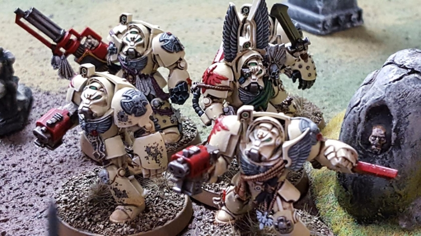 IG and friends vs Deamonkin March 31 2017 Deathwing Terminators