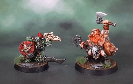 Azazel Goblin Chief and Berserker March 2020