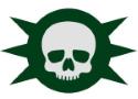 Death Guard Symbol 125 wide
