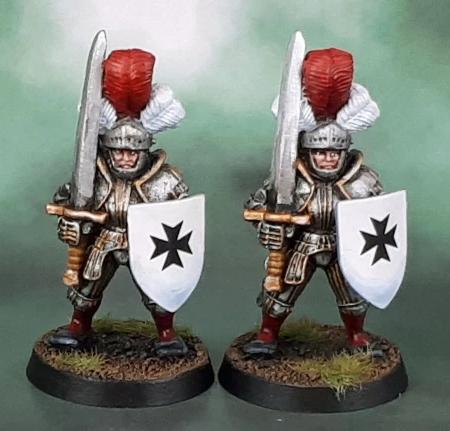 Azazel's two Reiksgard Foot Knights