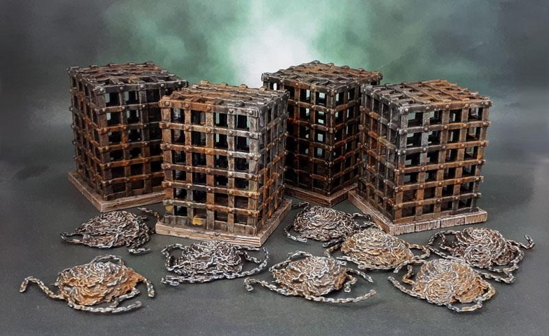 Azazel's Wizkid's Cages