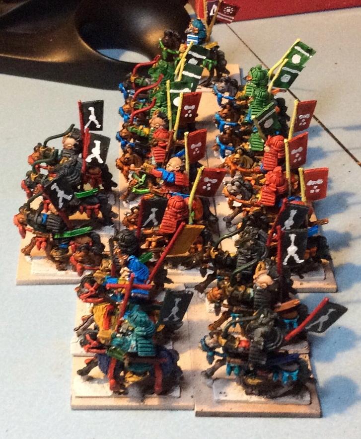 Bogenwald Samurai Cavalry