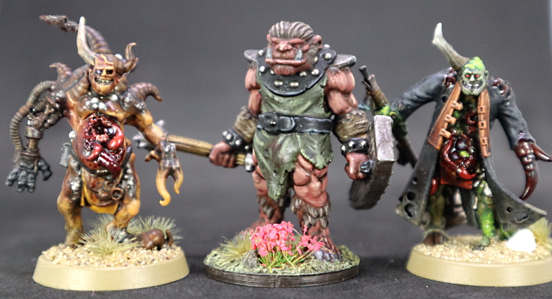 Bugbear and Poxwalker #18 and #19 for 12 Months of Hobby Painting Challenge at Painting in the Dark by Warbringer April 30 2020