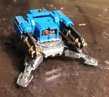 Candore Et Labore Tarantula Sentry Gun with twin assault cannons