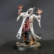 Convert or Die poxwalker with white coat front