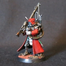 Convert or Die Skitarii Ranger left view