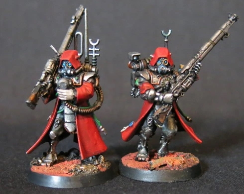 Convert or Die Two Skitarii Rangers