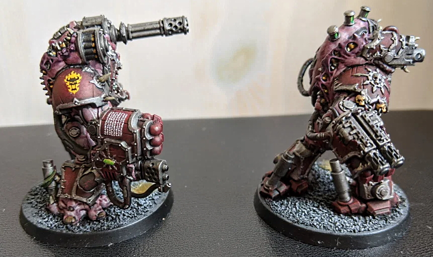 Dreadaxe Games Obliterators Right Side