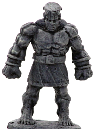 Stone Golem by The Introverted Hermit