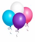 Balloon Clip Art 125 wide