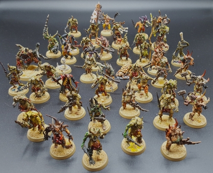 Twenty Plaguebearers and poxwalkers and friends June 11 2020