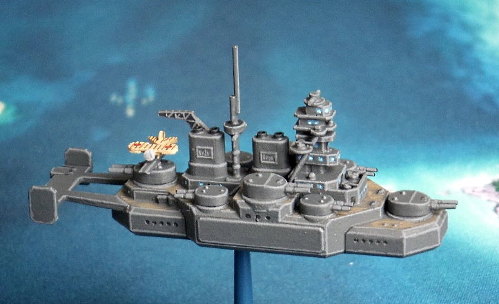 Japanese Flying Battleship Shinano class Just Needs Varnish