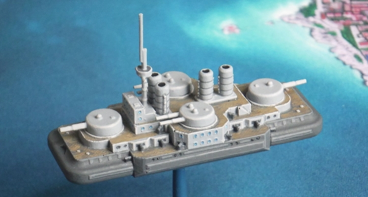 Russian Poltava class dreadnought by John of Just Needs Varnish