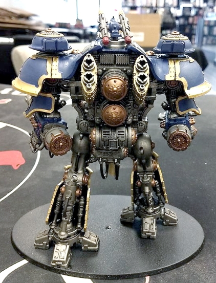 Tom Douglass Imperial Knight back view