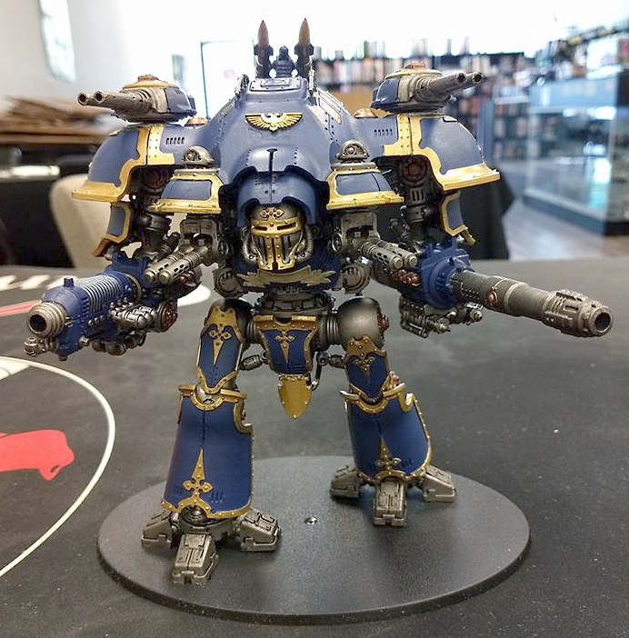 Tom Douglass Imperial Knight front view